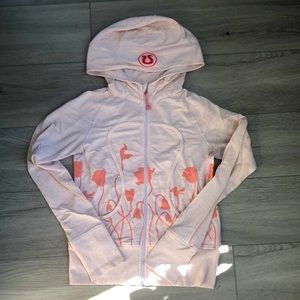 Lululemon Remix Zip up Floral Hoodie